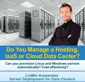 LinMin in the hosting data center